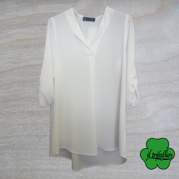 Blusa Effetto High and Low