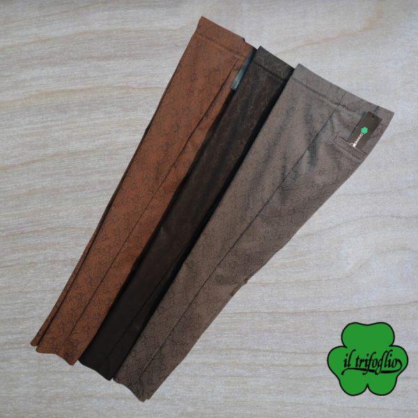 Pantaloni Tessuto Jacquard